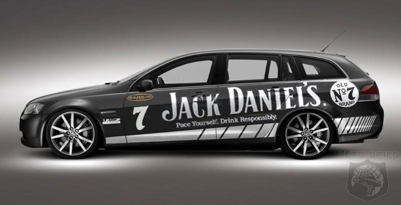 Jack Daniels Holden Commodore VE Sportwagon AutoSpies Auto News - Jack daniels audi